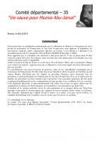 Situation de Mumia Abu-Jamal: rassemblement à Rennes