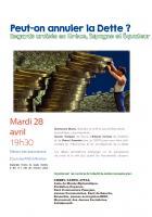 Conférence-débat sur l'annulation de la dette