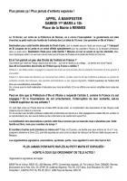 Contre les expulsions: manifestons SAMEDI 1er MARS à 15h Place de la Mairie à RENNES