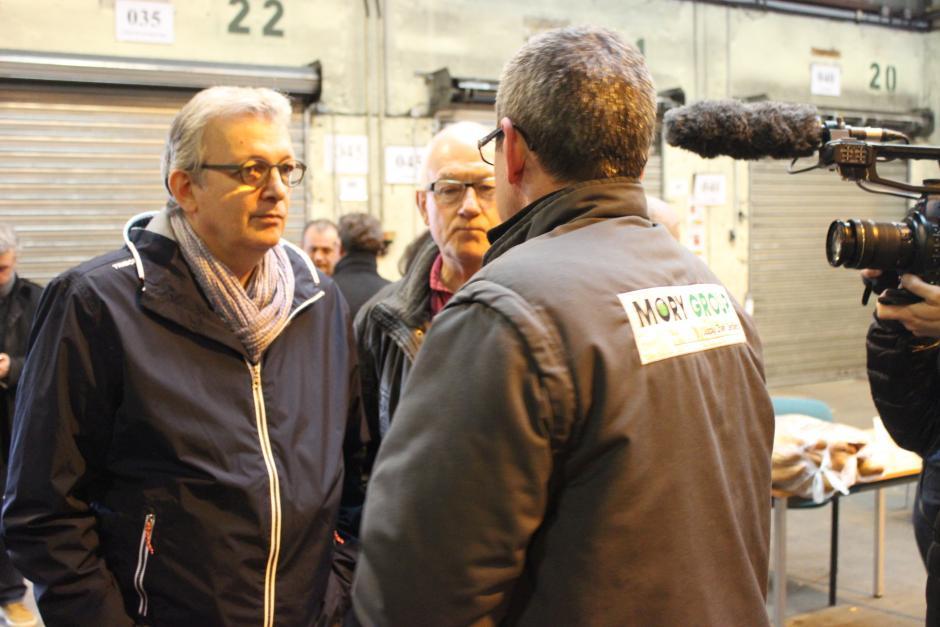 Pierre Laurent à la rencontre des salariés de Mory Global