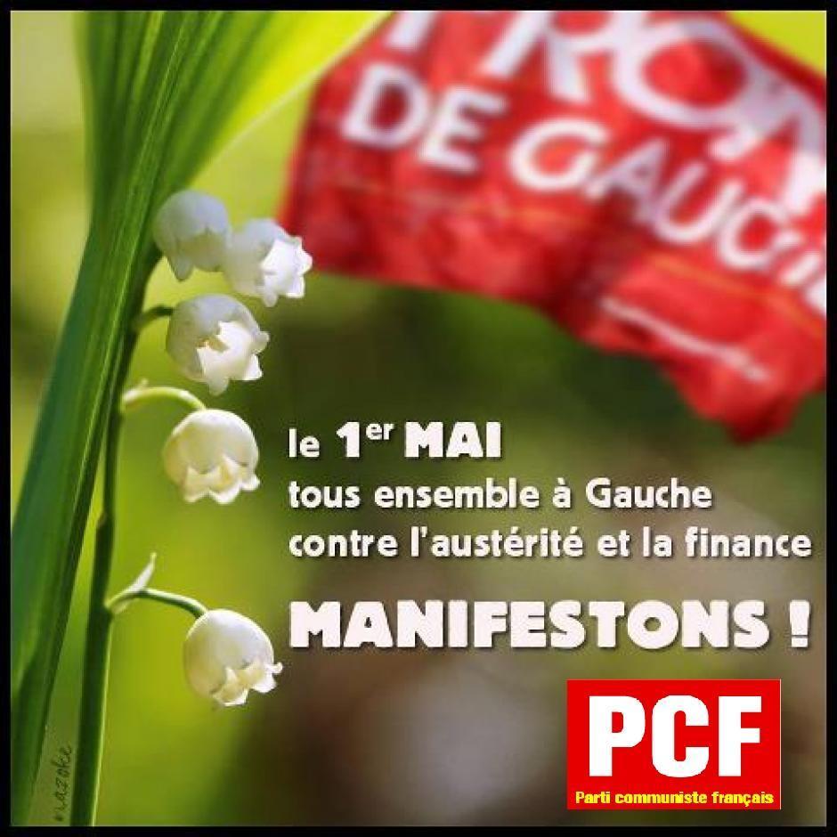 Manifestations du 1er mai en Ille-et-Vilaine