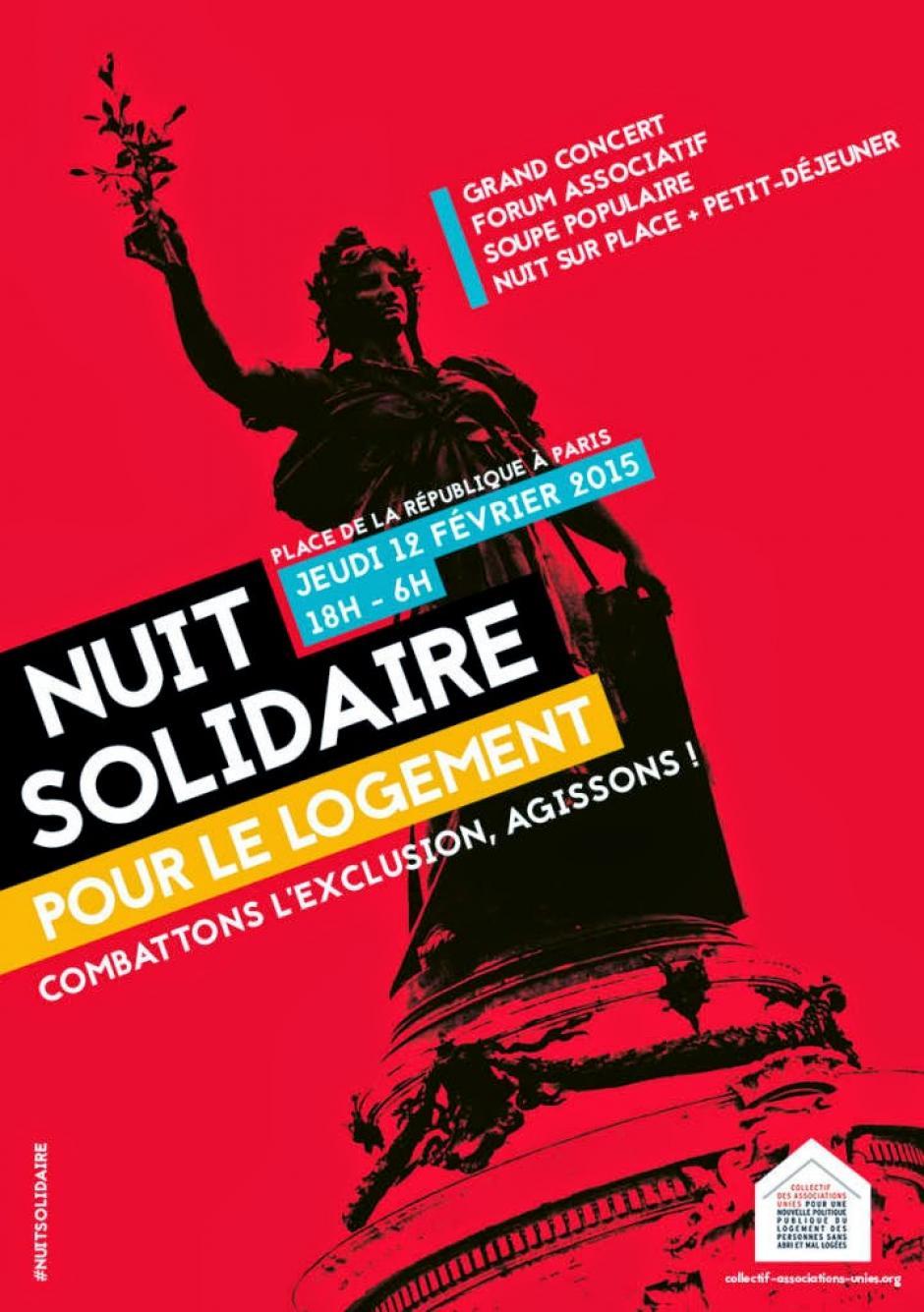 Nuit solidaire du 12 février